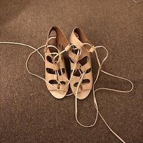 Jeffrey Campbell Lace Up Heels Size 6 Photo
