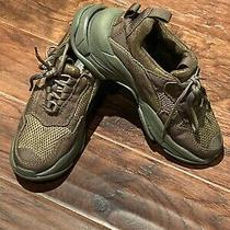 Jeffrey Campbell Ladies Green Sneakers Dad Sneakers 7.5 Olive Green Photo