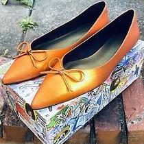 Jeffrey Campbell Lavina Orange Slippers Size 11 Us Photo