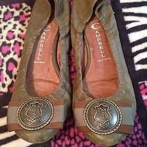 Jeffrey Campbell Leather Ballerina Flats Shoes. Size 8.5 Photo