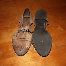 Jeffrey Campbell Leather Oxford Flats 7.5 Photo