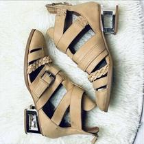 Jeffrey Campbell Level Up Tan Bootie Size 8.5 Photo