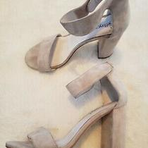 Jeffrey Campbell Lindsay Taupe Suede Open Toe Heel Sandals Women 6.5 M Photo