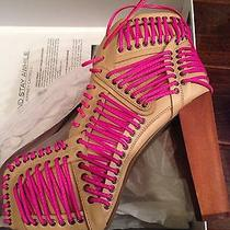 Jeffrey Campbell Lita Corset Pink Size 6.5 Photo