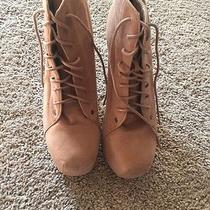 Jeffrey Campbell Lita Inspired Tan Faux Suede Photo