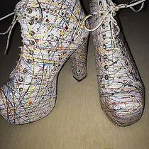 Jeffrey Campbell Lita Paint Size 9.5 Photo