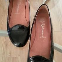 Jeffrey Campbell Mention Ballet Flats  Black Patent Leather   6m Photo