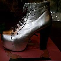 Jeffrey Campbell Metallic Lita Shoe Photo