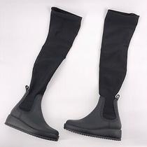 Jeffrey Campbell Monsoon Otk Platform Rain Boot Matte Black Size 9 Photo