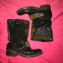 Jeffrey Campbell Motorcycle Boots Size 8 Photo