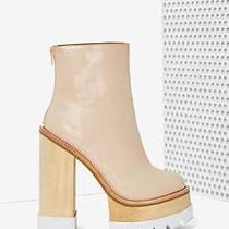 Jeffrey Campbell Mulder Platform Boot - Nude Size 9 New Without Box  Photo