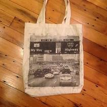 Jeffrey Campbell My Way or the Highway Silk Screen Shopping Tote Bag Photo