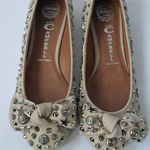Jeffrey Campbell New Nude Leather Studs & Stars Bow Pumps-Uk 4 (Eu 37) Photo