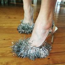 Jeffrey Campbell Noel Tinsel Heels Size 5 New in Box  Photo