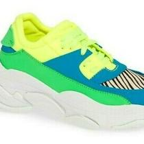 Jeffrey Campbell Online-2 Women's Oversized Dad Platform Sneaker Shoes Size 7.5 Photo