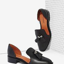 Jeffrey Campbell 'Open Case' Tasseled Leather Flat in Black (8.5) 135 Photo