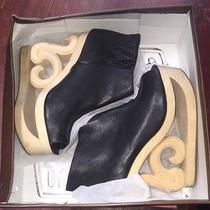 Jeffrey Campbell Original Skates Black and Tan With Original Box Sz 9 Photo