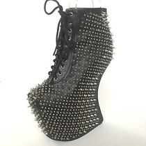 Jeffrey Campbell Over-Sp All Over Vibes Unbranded Goth Grunge Fetish Size 7.5 Photo