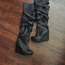 Jeffrey Campbell Over the Knee Boots Photo