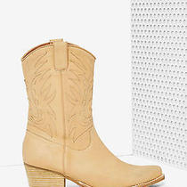 Jeffrey Campbell Plano Leather Boot Size 10 New in Box Nude  Photo
