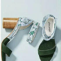 Jeffrey Campbell Purdy Anthropologie Asian Floral Heels Size 8 Photo