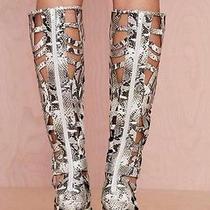 Jeffrey Campbell Python Boots Photo