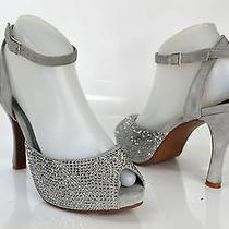 Jeffrey Campbell 'Quartz' Diamond/suede Heels Size 8 Photo