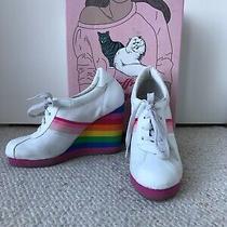 Jeffrey Campbell Rainbow Wedge Sneakers 'Chrissie' Photo