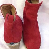 Jeffrey Campbell Red Boots Size 7  Photo