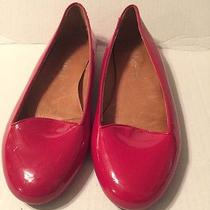 Jeffrey Campbell Red Patent Leather Ballet Flats Shoes Mention Ln Size 10 M Photo