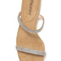 Jeffrey Campbell Rhinestone Embellished Madelia Slide Sandals Size 7 Photo