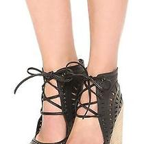 Jeffrey Campbell 'Rodillo-Hi' Cut-Out Bootie Wedge 9.5  Photo