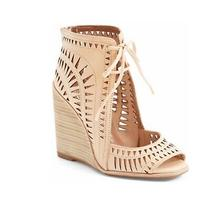 Jeffrey Campbell Rodillo-Hi Laser Cut Size 10 Wedge Sandal Photo