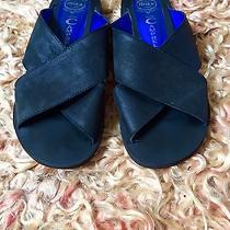 Jeffrey Campbell Romero Sandals Black Size 8 Crisscross Straps Patent Leather Photo