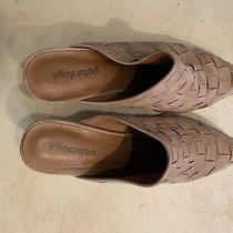 Jeffrey Campbell Rose Suede Mules Size 8.5 Photo