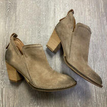 Jeffrey Campbell Rowlan Suede Ankle Bootie Size 9.5 Photo