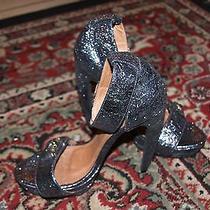 Jeffrey Campbell Royce Metallic Heels Size 9.5 Photo