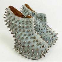 Jeffrey Campbell Shadow Studded Wedge Size 6 Photo