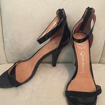 Jeffrey Campbell Shoes Size 9 Black Ankle Strap Ibiza Style Photo
