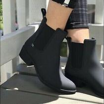 Jeffrey Campbell Size 8 Havana Last Stormy Black Rain Boots New Photo