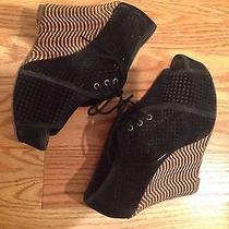 Jeffrey Campbell (Size 8) Lace Up Wedge  Photo