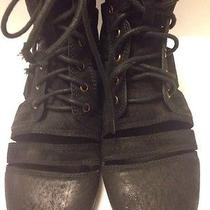 Jeffrey Campbell Slashed Boots 10m  Very Cool Photo
