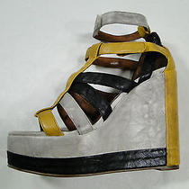 Jeffrey Campbell Smith  Handmade Ibiza Last Womens 10 M Caged  Photo