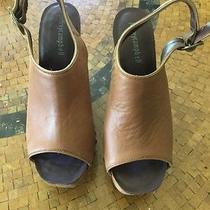 Jeffrey Campbell Smug Wedge Sandal Heel Size  8 Women New Msrp 180 Photo