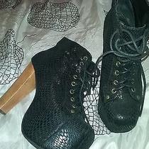 Jeffrey Campbell Snake Lita Boots 6 Photo