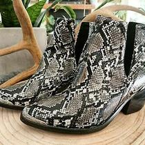 Jeffrey Campbell Snakeskin Boots Photo