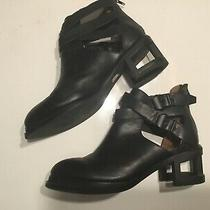 Jeffrey Campbell Sold Out Black Sylvster Cage Boots Size 8 Free People Mint Photo