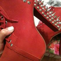 Jeffrey Campbell Spike Lita-Red Photo