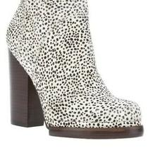 Jeffrey Campbell Spotted Pony Hair Loza Booties Size 7 Photo