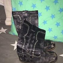 Jeffrey Campbell Studded Moto Boots Size 9 Photo
